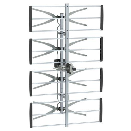Leadzm 150Miles Outdoor Amplified Antenna for UHF