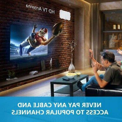 960 Range Antenna Indoor with Digital 1080P HD HDTV 4K