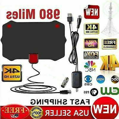 980 miles digital tv antenna signal booster