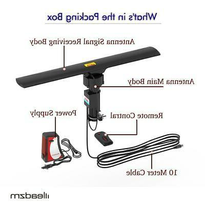 990 Mile Outdoor TV Antenna Amplified 1080P 4K 360°