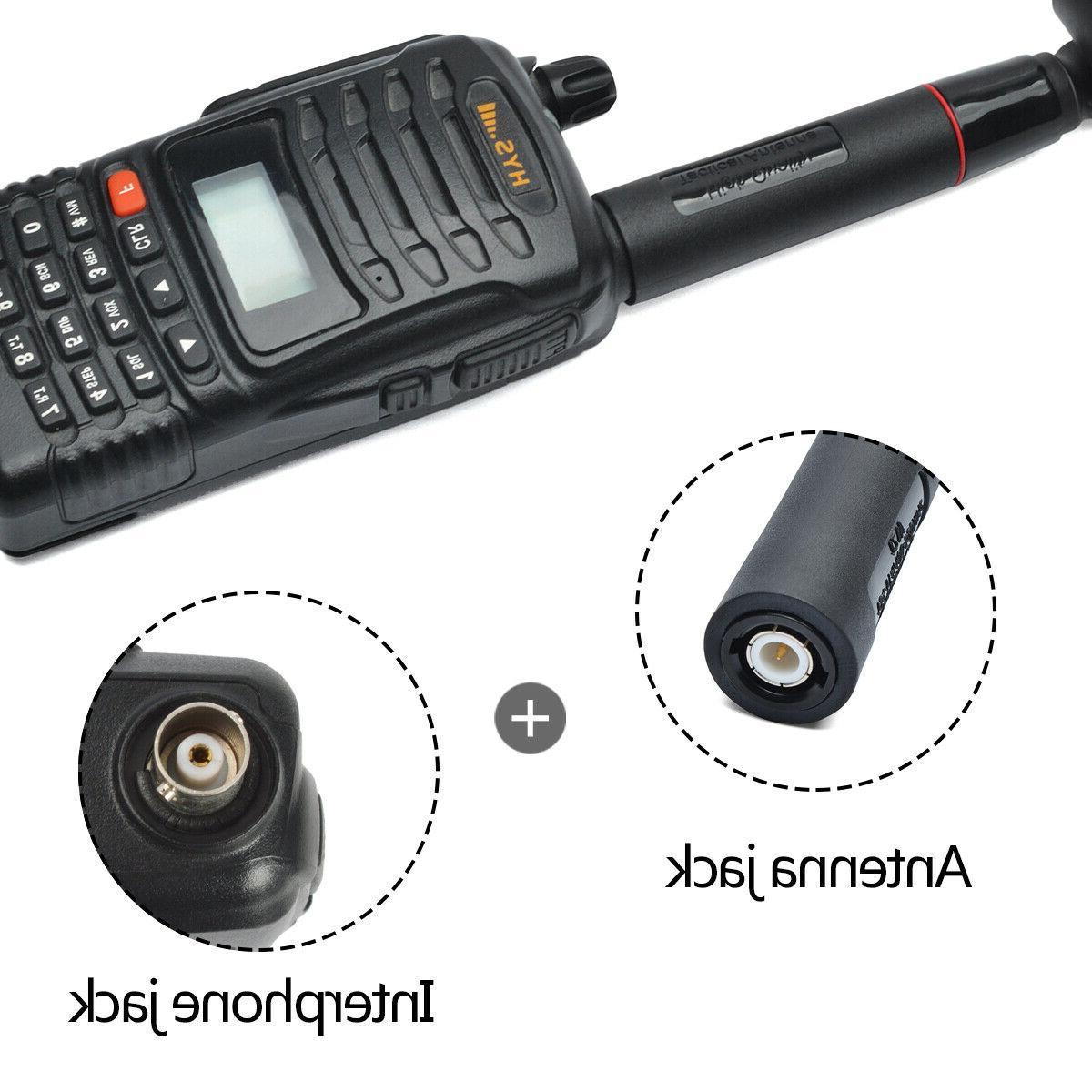 US HYS Tactical Antenna VHF/UHF For Kenwood Ham Two Way