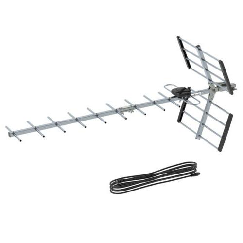 100Miles Outdoor Amplified TV Antenna for