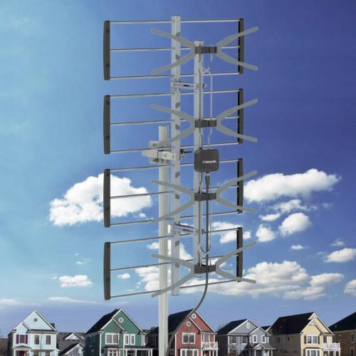 digital hdtv 1080p 150miles outdoor amplified tv
