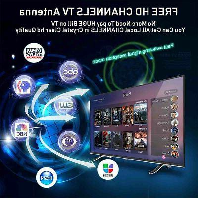 Digital Antenna Miles Amplifier HDTV 1080P
