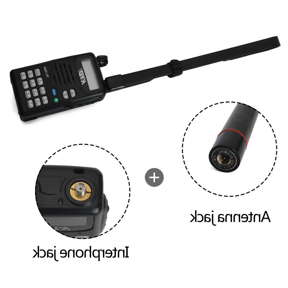 HYS Dual VHF/UHF SMA-male Portable Dooseneck 20w