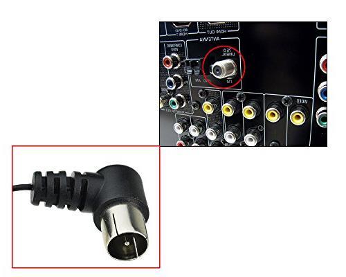 Maxmoral Radio Indoor HD Type Connector 75 UNBAL SONY Radio Stereo Receiver