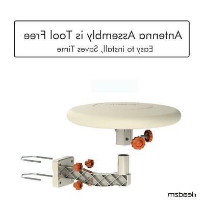 HDTV Antenna 360° HD 1080P