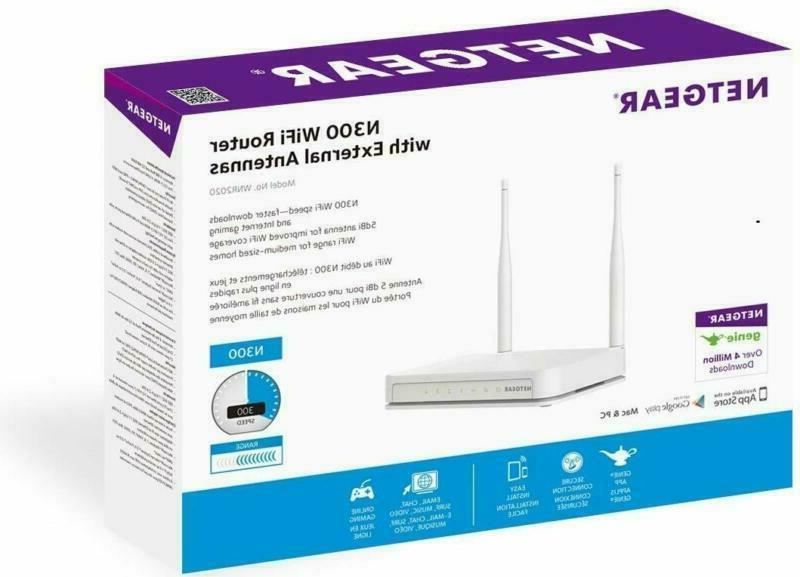 NETGEAR Wi-Fi Router with External