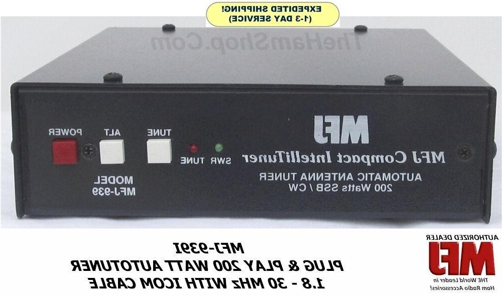 MFJ-939I Plug & 200 1.8-30 MHz ICOM 20,000