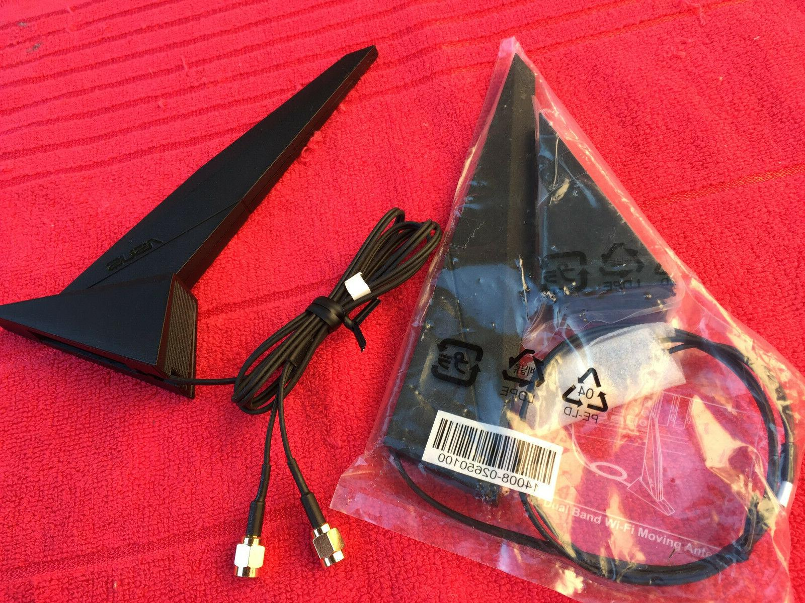 ASUS X99 Z87 Z97 DUAL BAND MOVING ANTENNA, HEAD