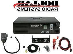 New Motorola CM200 UHF 438-470Mhz 40W 4 Channel Mobile Radio