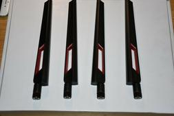 New! GENUINE ASUS 4 Antennas For RT-AC88U and RT-AC87R, RT-A