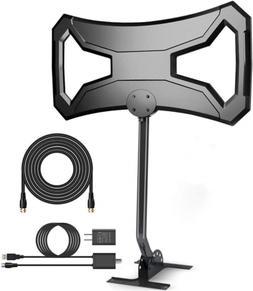 Outdoor HDTV Antenna 150-180 Miles Range- AntennaWorld TV An