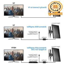 Outdoor Indoor Digital Tv Antenna 150 Miles Range For 4K 720