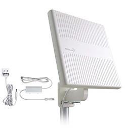 Outdoor TV Antenna, ANTOP 360° Omnidirectional Reception HD