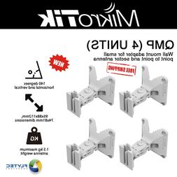 Mikrotik QMP 4 UNITS Wall Mount Adapter for Small PtP and Se