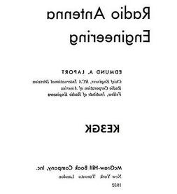 Radio Antenna Engineering Electronic Book * CDROM * PDF