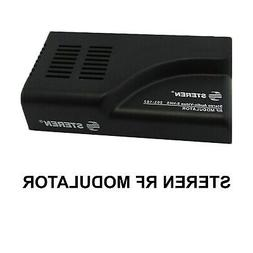 STEREN RF MODULATOR 203-102 Stereo Audio - Video S-VHS signa