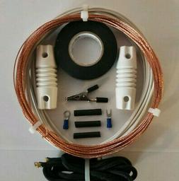 Shortwave Radio Antenna  *The Worldwide*  50' Bare Copper Lo