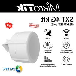 Mikrotik SXT 4G kit RBSXTR&R11e-4G 60 Degree 10.5dBi Antenna