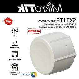 Mikrotik SXT LTE 3 and 7 LTE FDD Band Support and 9dBi 60 De