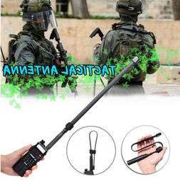 Tactical Antenna SMA-Female Dual Band VHF UHF 144/430Mhz For