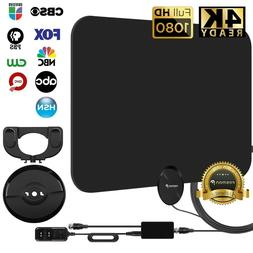 Fosmon  Ultra Thin Flat Indoor HDTV Amplified HD TV Antenna