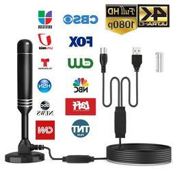 Upgraded TV Antenna HDTV Amplified Digital TV Antenna 4K 108