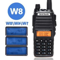 Baofeng UV-82 8W Tri-power 8W/4W/1W Dual Band V/UHF Two Way