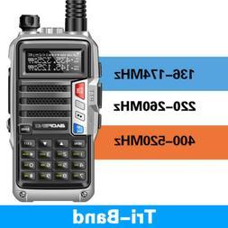 BaoFeng UV-S9 Tri-Band 8W 2x Antenna Long Range Walkie Talki