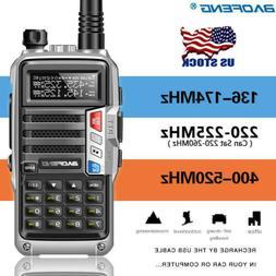 BaoFeng UV-S9 Tri-Band Radio VHF,1.25M,220 Antenna,UHF, Two