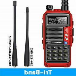 BaoFeng UV-S9 Tri-Band Radio VHF,1.25M,220 Antenna,UHF, Ham