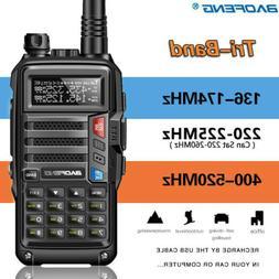 BaoFeng UV-S9 Tri-Band Radio VHF,1.25M, 220 Antenna,UHF,Ham